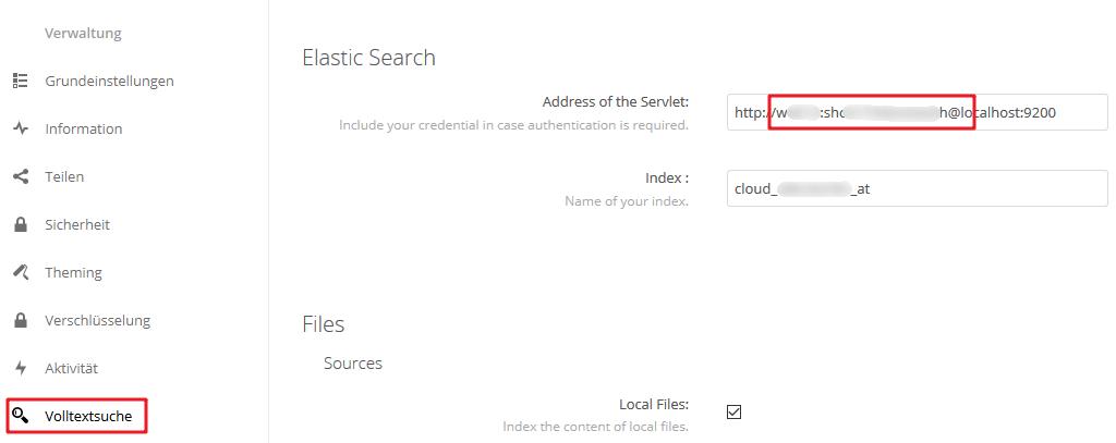 Install Nextcloud-Elasticsearch – Allerstorfer at